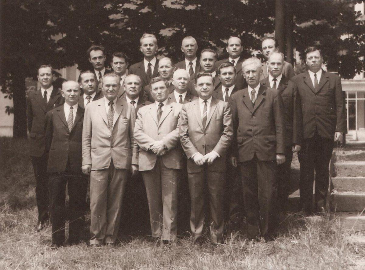 Prima serie de participanți la Cursurile biblice