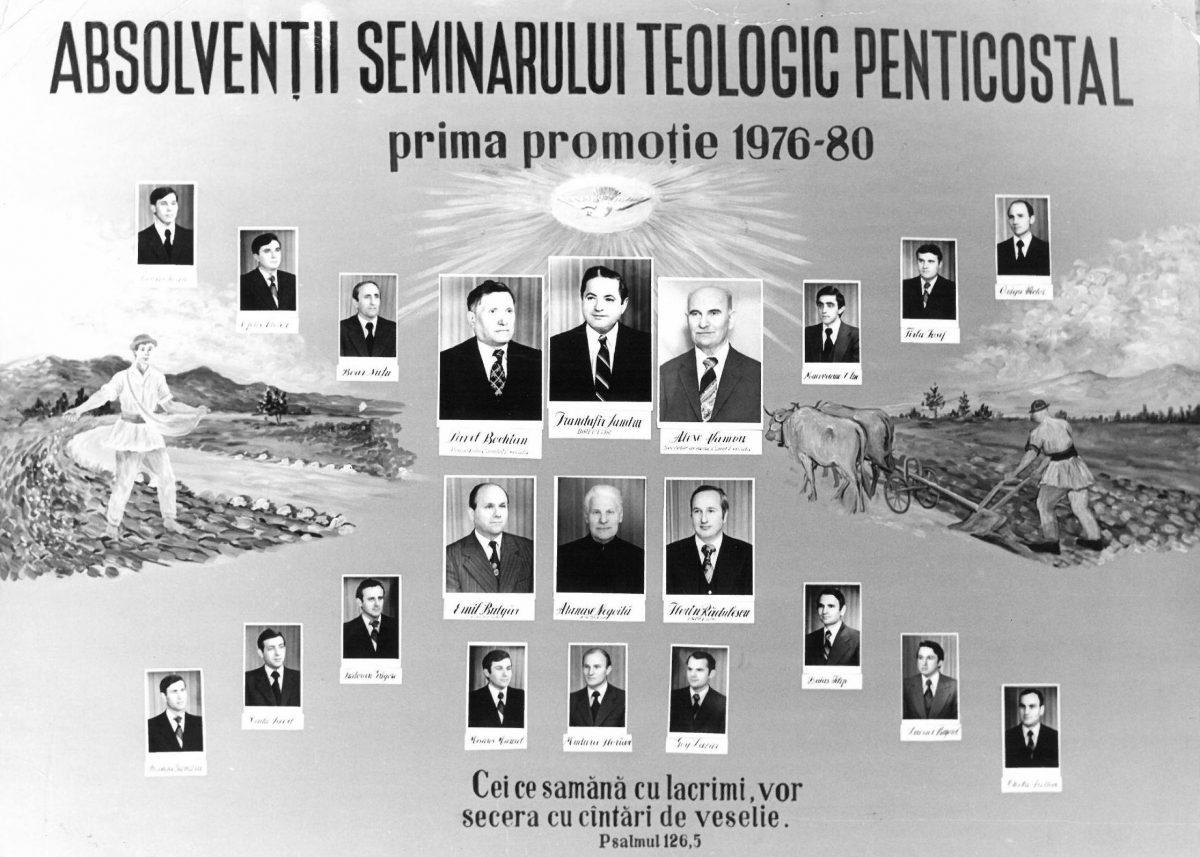 Promotia seminarului (1976-1980)