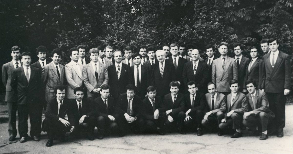Studenţi şi cadre didactice, în anul 1992